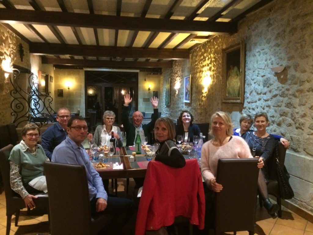Equipe organisation Nordic Vitalié – créatif meeting :-)